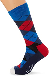 Happy Socks Hombre Paquete De 3 Calcetines Naranja/Azul Talla única RlVdYDpAZ