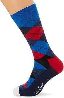Happy Socks Hombre Paquete De 3 Calcetines Naranja/Azul Talla única