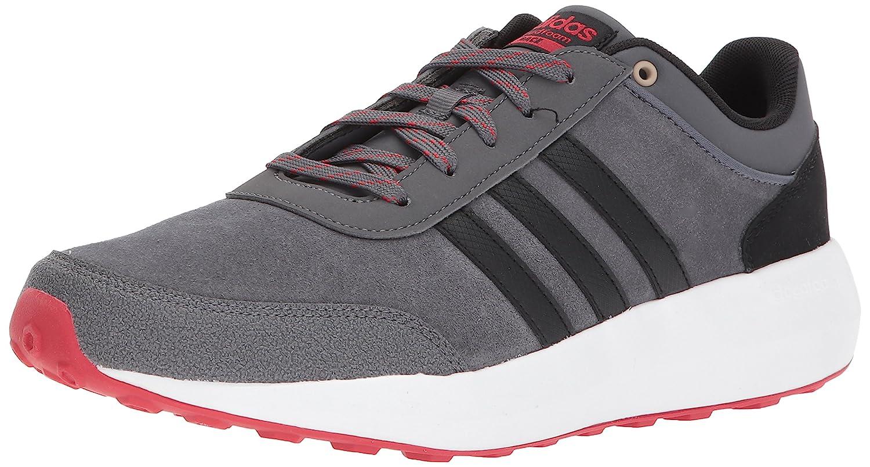 adidas Men's Cf Race Running Shoe B01N1N7P5Q 10 D(M) US|Grey Five/Black/Scarlet