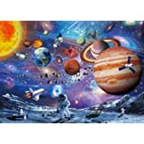 VanStar Space Puzzle 1000 Piece Puzzles for Adults Kids – Space Passenger, Floor Puzzle Kids Puzzle Toys & Birthday…
