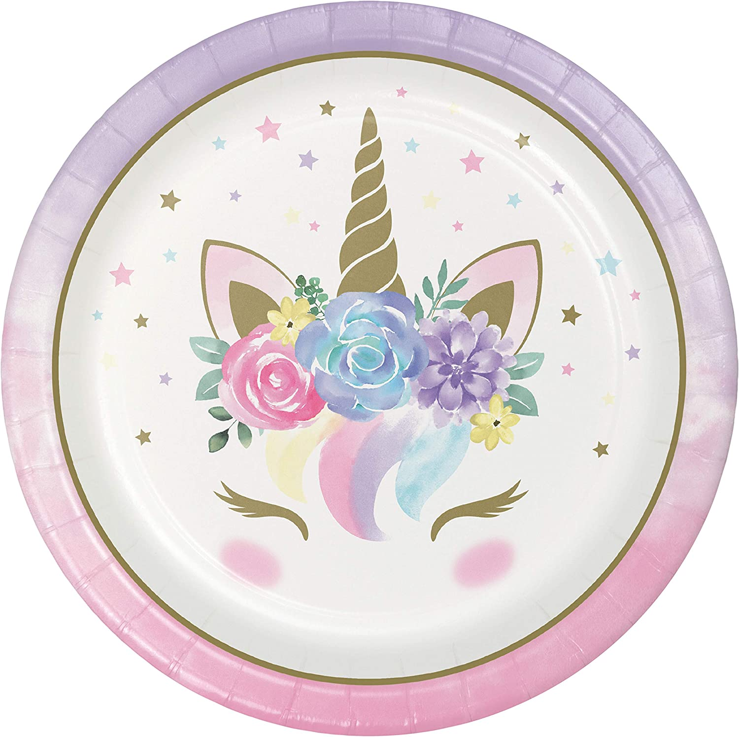 Magical Illusion Plates /& Napkins Party Kit for 24 Lunch