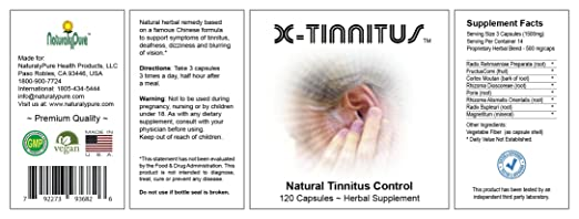 Amazon.com: X-Tinnitus - A sound remedy for the ringing, buzzing, humming, roaring and hissing, otherwise known as