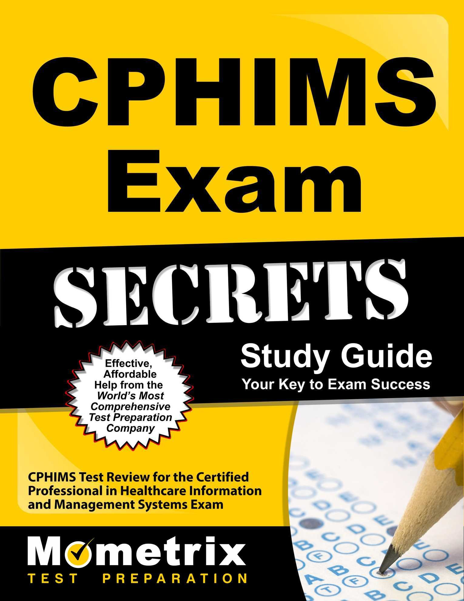 Buy Cphims Exam Secrets Cphims Test Review For The Certified