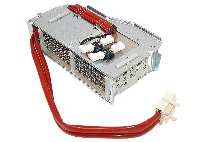 AEG Electrolux John Lewis Secadora ZANUSSI elemento calefactor de secador. Genuine número de pieza 1256292234