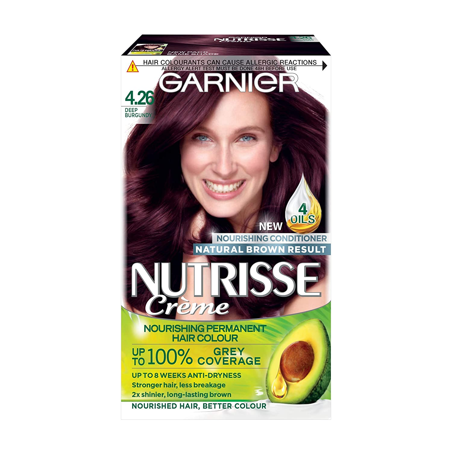 Garnier Nutrisse Permanent Hair Dye, 9.13 Light Ash Blonde 106798196