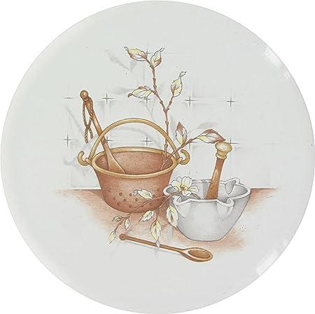 T.E.N Cache-Plaque /émail 16 cm blanc*