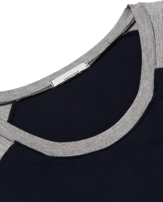 UNibelle Pigiama Camicia da Notte Premaman maternit/à Allattamento Donna Abiti Vestito da maternit/à a Manica a 3//4 S-XXL