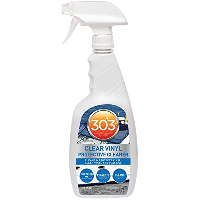 303 Products 30215 Marine Clear Vinyl Protective Cleaner - 32 oz.: Automotive