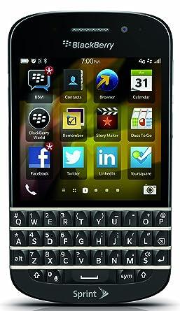 Amazon blackberry q10 black 16gb sprint cell phones blackberry q10 black 16gb sprint ccuart Choice Image