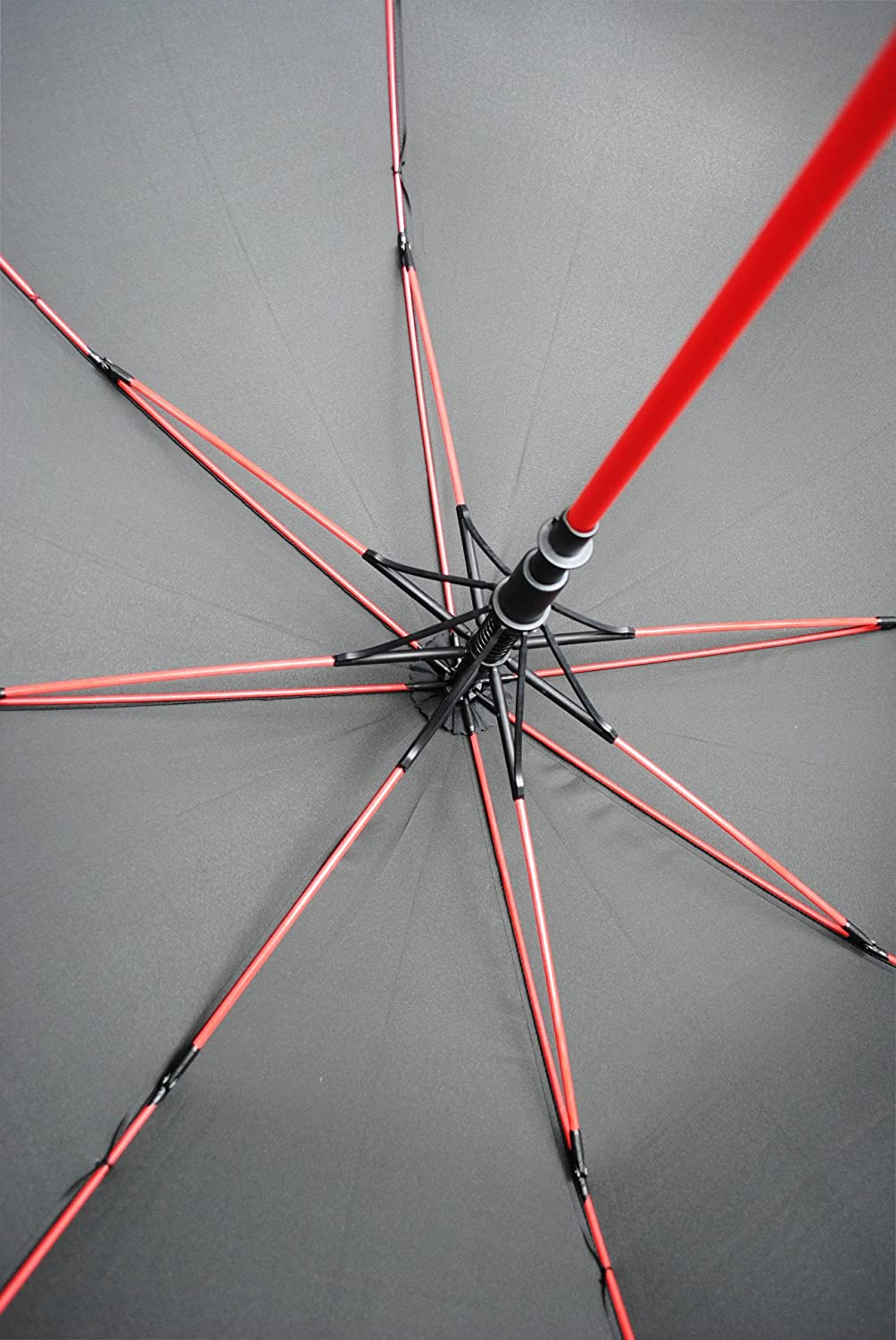 Amazon.com: COLLAR AND CUFFS LONDON - 60MPH Windproof EXTRA STRONG - StormFighter Jumbo Umbrella - Striking Red Reinforced Fiberglass Frame - For 1 or 2 ...