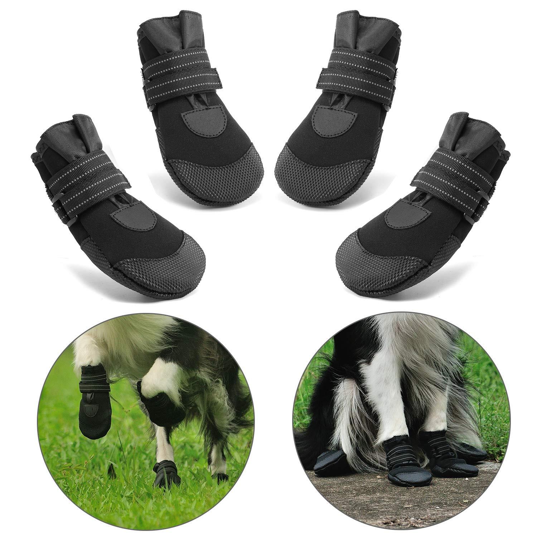 Hcpet Protectores de Pata de Perro, Zapatos Perro para Pequeña y ...