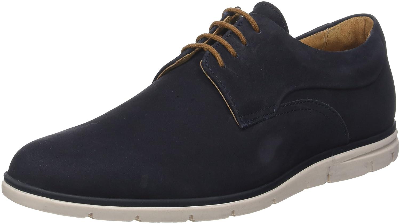 Schmoove Shaft Nubuck, Zapatos de Cordones Derby para Hombre