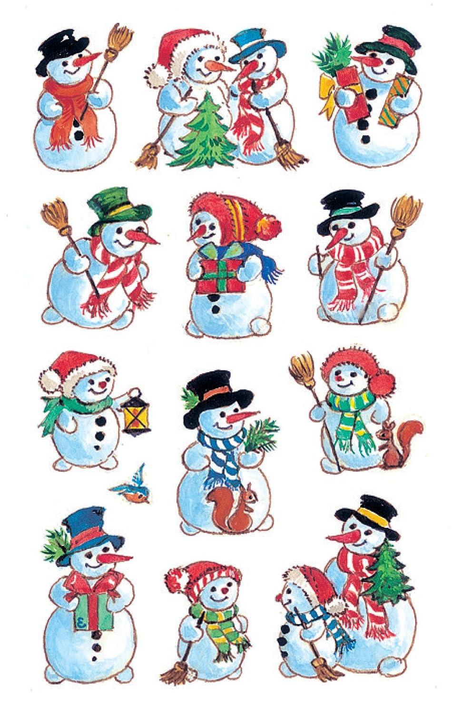 diseño de muñecos de nieve