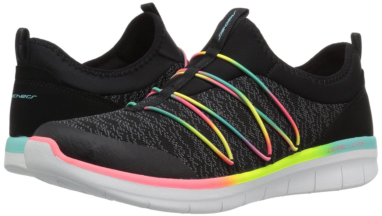 Skechers Damen Synergy 2.0-Simply Chic (schwarz/Multicolour) Slip on Sneaker Schwarz (schwarz/Multicolour) Chic f380a2