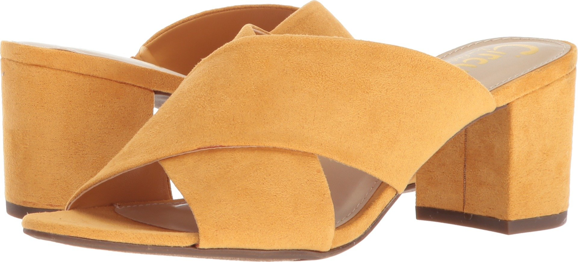 Circus by Sam Edelman Women's Stevie Heeled Sandal, Sunglow Yellow, 7.5 M US