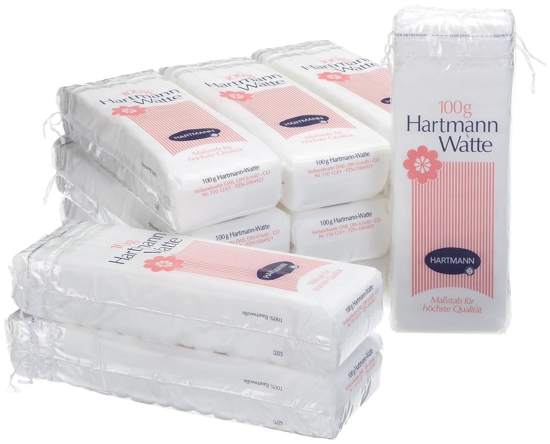 Hartmann 110123 Lagenwatte 12 Beutel à 100 g: Amazon.de: Beauty