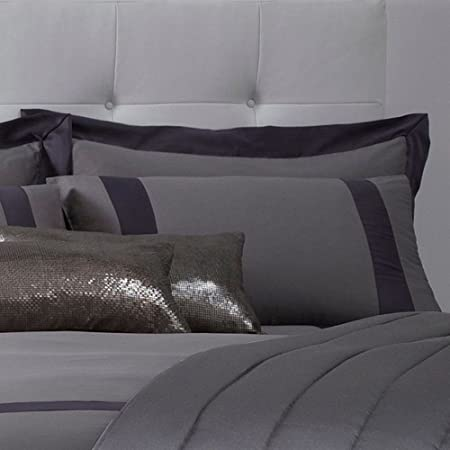 5ab14b63dbc Debenhams J By Jasper Conran Grey  Mayfair  Pillow Case Pair  J by Jasper  Conran  Amazon.co.uk  Kitchen   Home