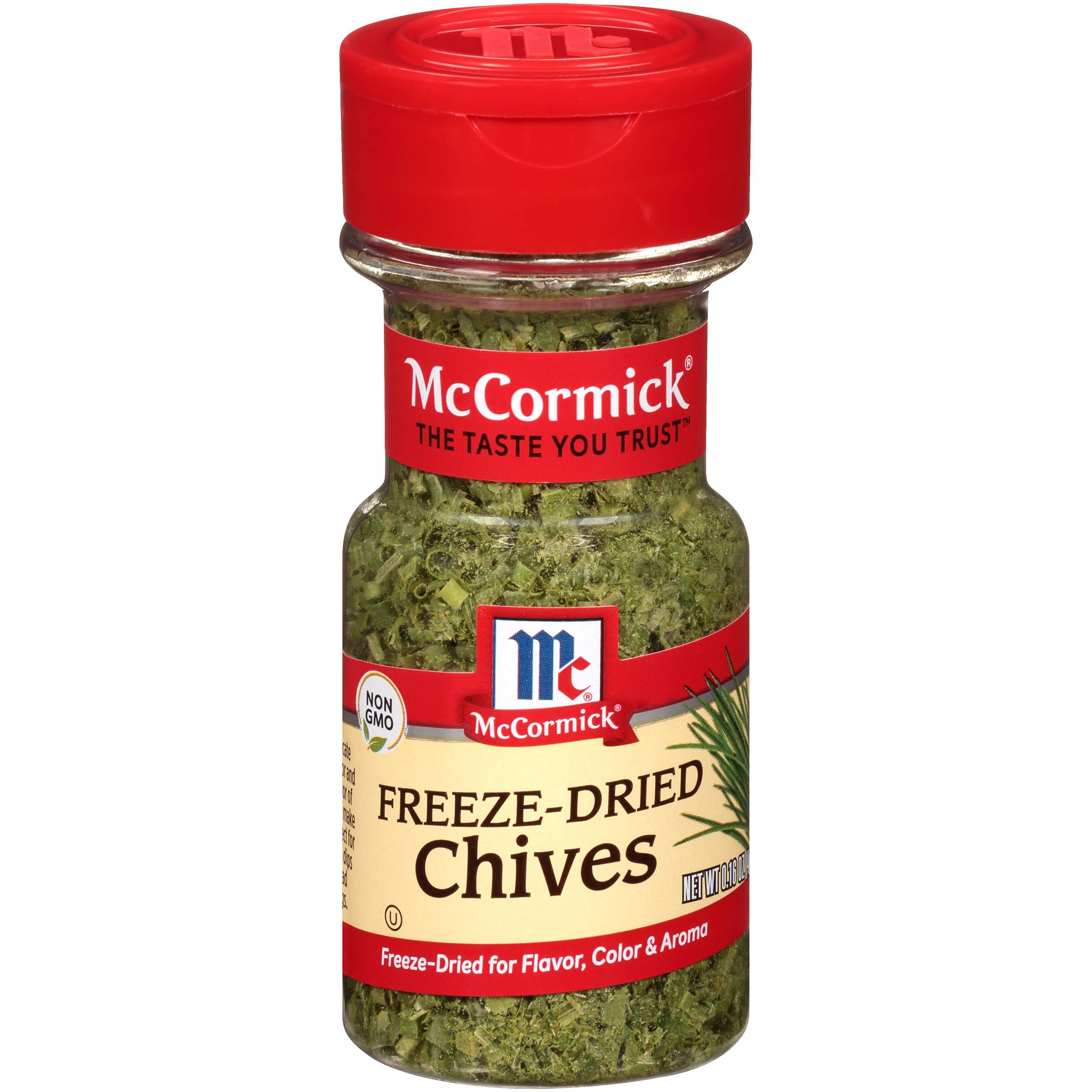McCormick Freeze Dried Chives, 0.16 oz (Pack of 6)