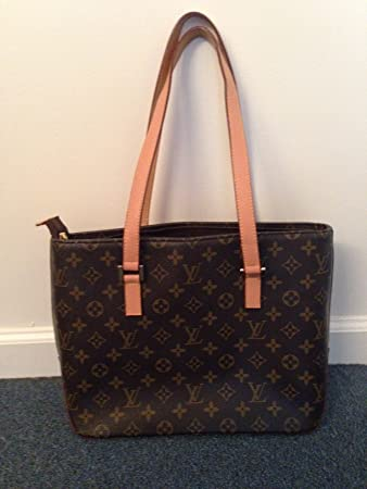 598f806d912f Amazon.com   Louis Vuitton Monogram Cabas Piano Tote Shoulder LV Bag M51148  Handbag   Beauty