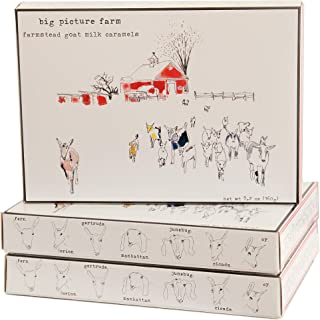 product image for Big Picture Farm Caramels, Storyboard Gift Box (Sea Salt & Vanilla)