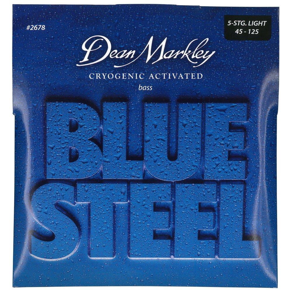 Dean Markley Blue Steel 5-String Electric Bass Strings Medium Light 2679 45-128