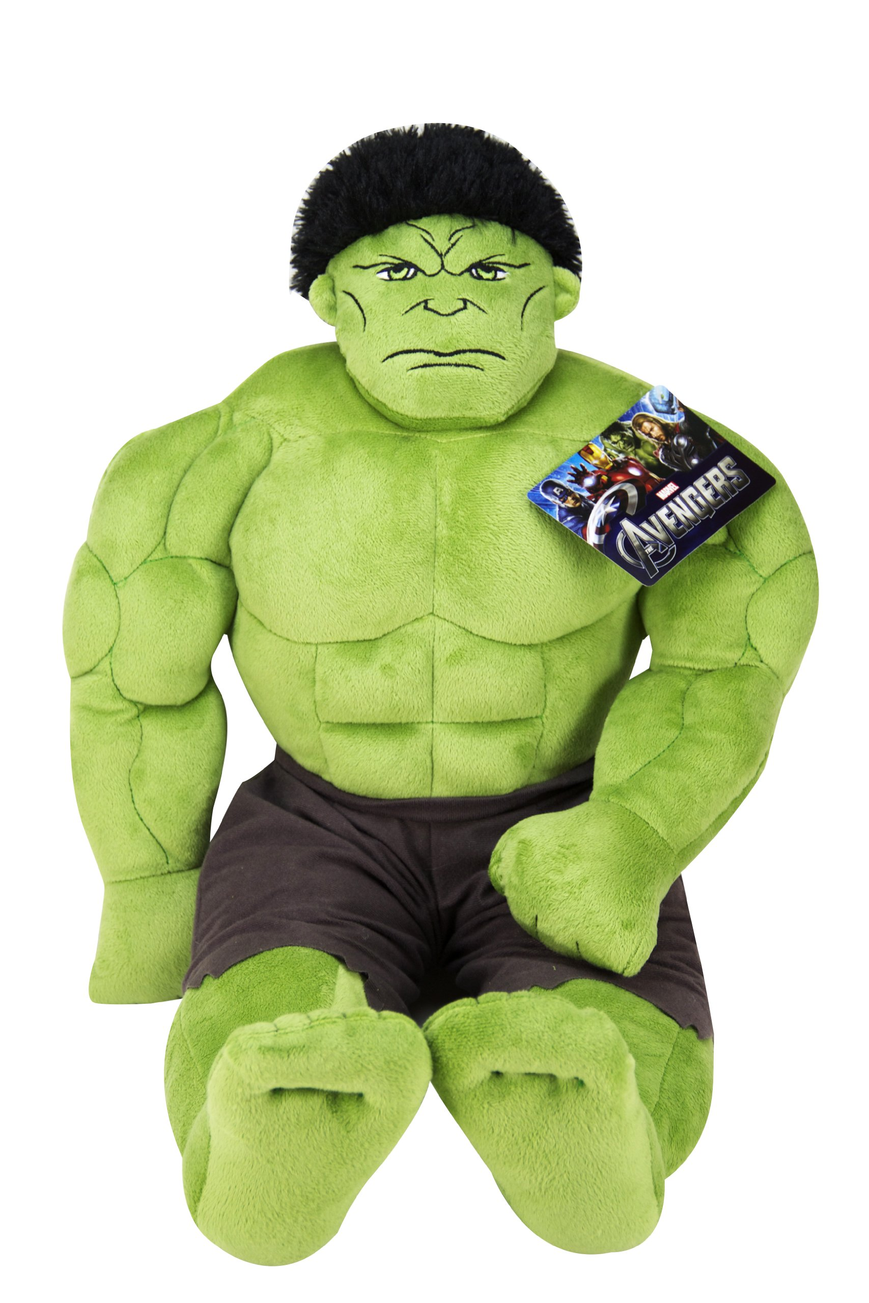 Jay Franco Avengers Plush Stuffed Hulk Pillow Buddy – Super Soft Polyester Microfiber, 23 inch (Official Marvel Product)