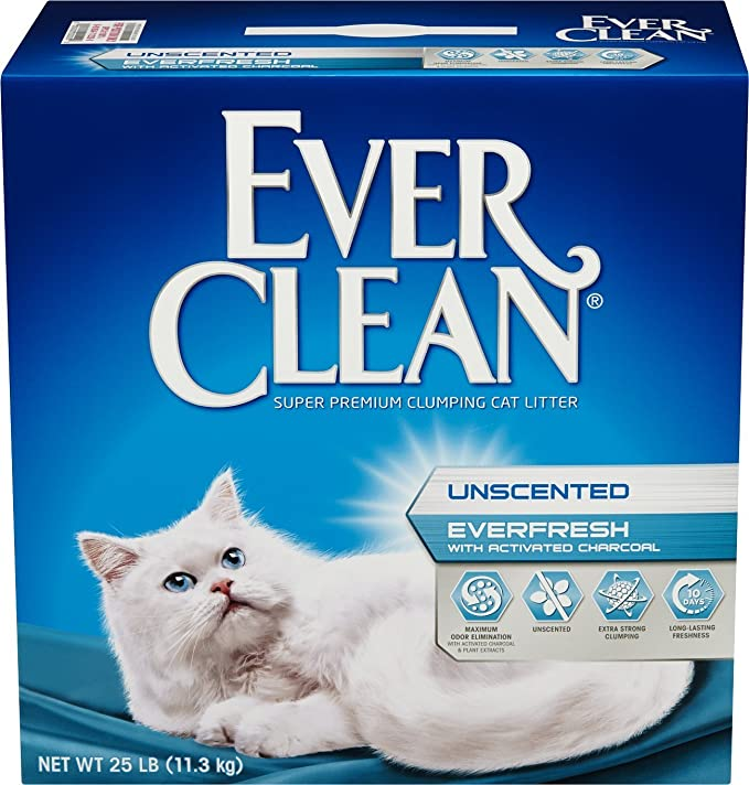 3. Fresh Step Ever Clean EverFresh - Best With Activated Charcoal