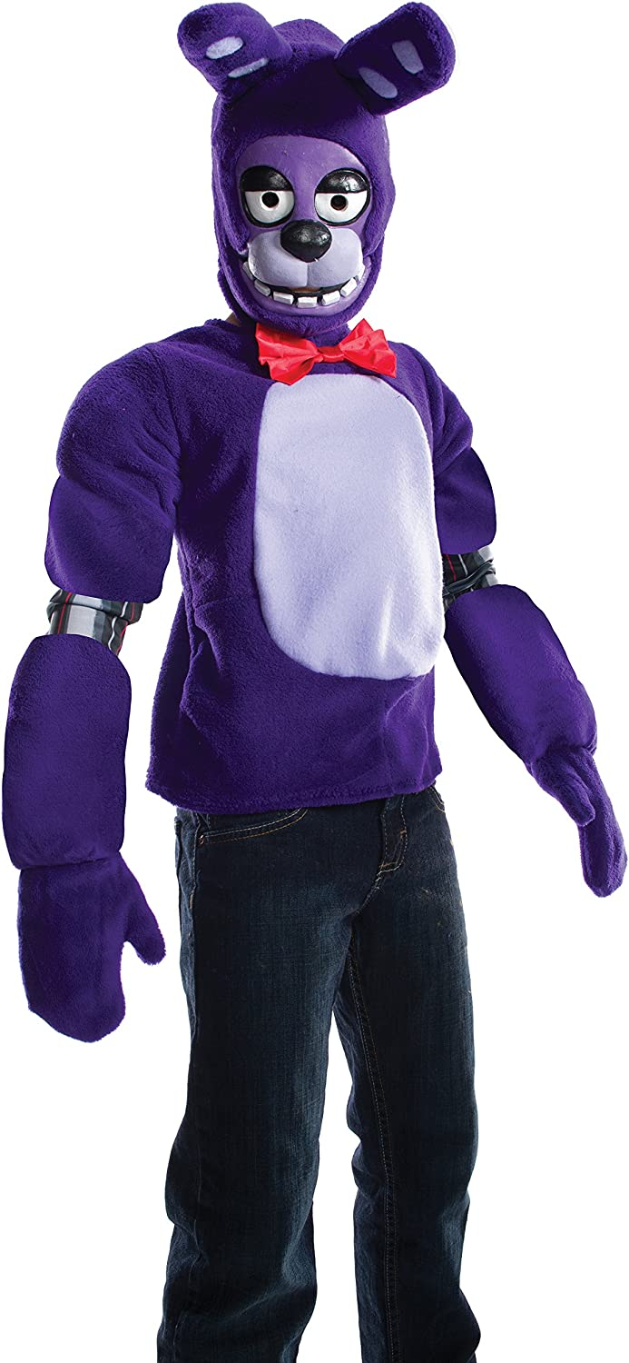 FIVE NIGHTS AT FREDDY/'S HOODIE BONNIE FACE CHOICE OF COLOURS /& SIZE GREAT GIFT