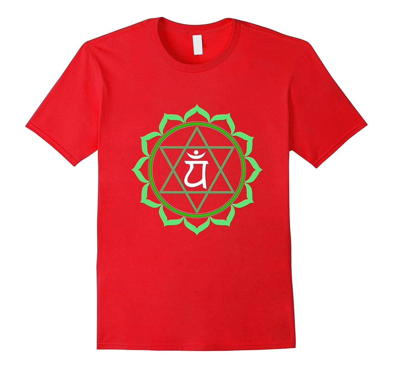 Yoga t shirt Anahatha heart chakra tee-TH