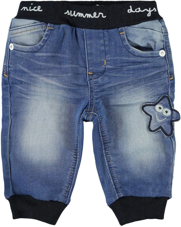 NAME IT Baby Jungen Jeans Hose mit Joggbund Baggy-Style NBMBOB