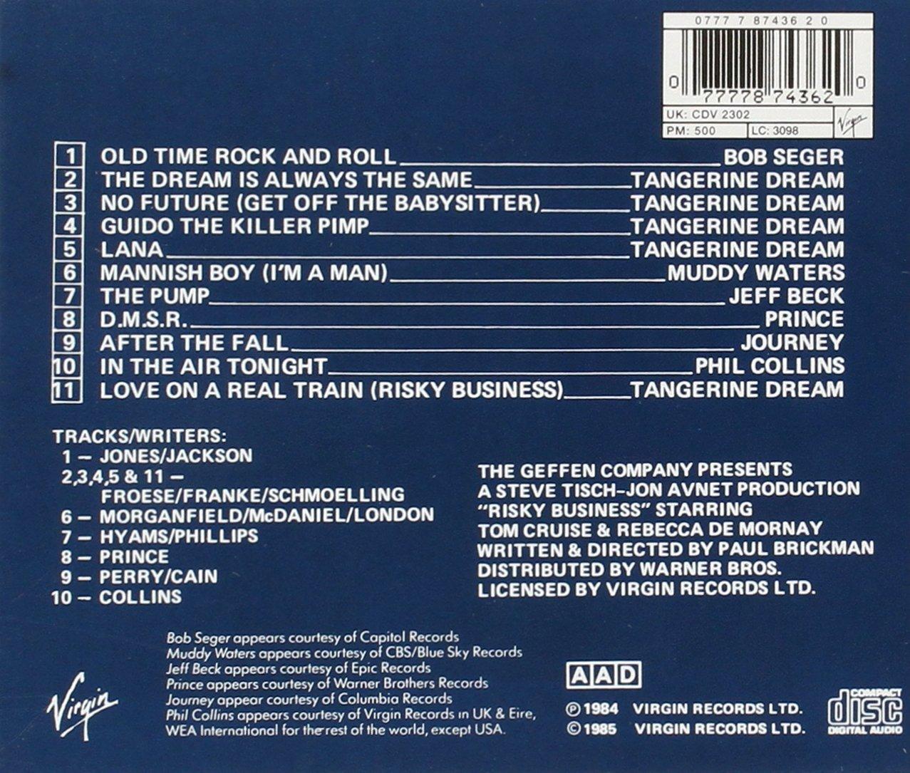 Risky Business Soundtrack - Ost, Various: Amazon.de: Musik