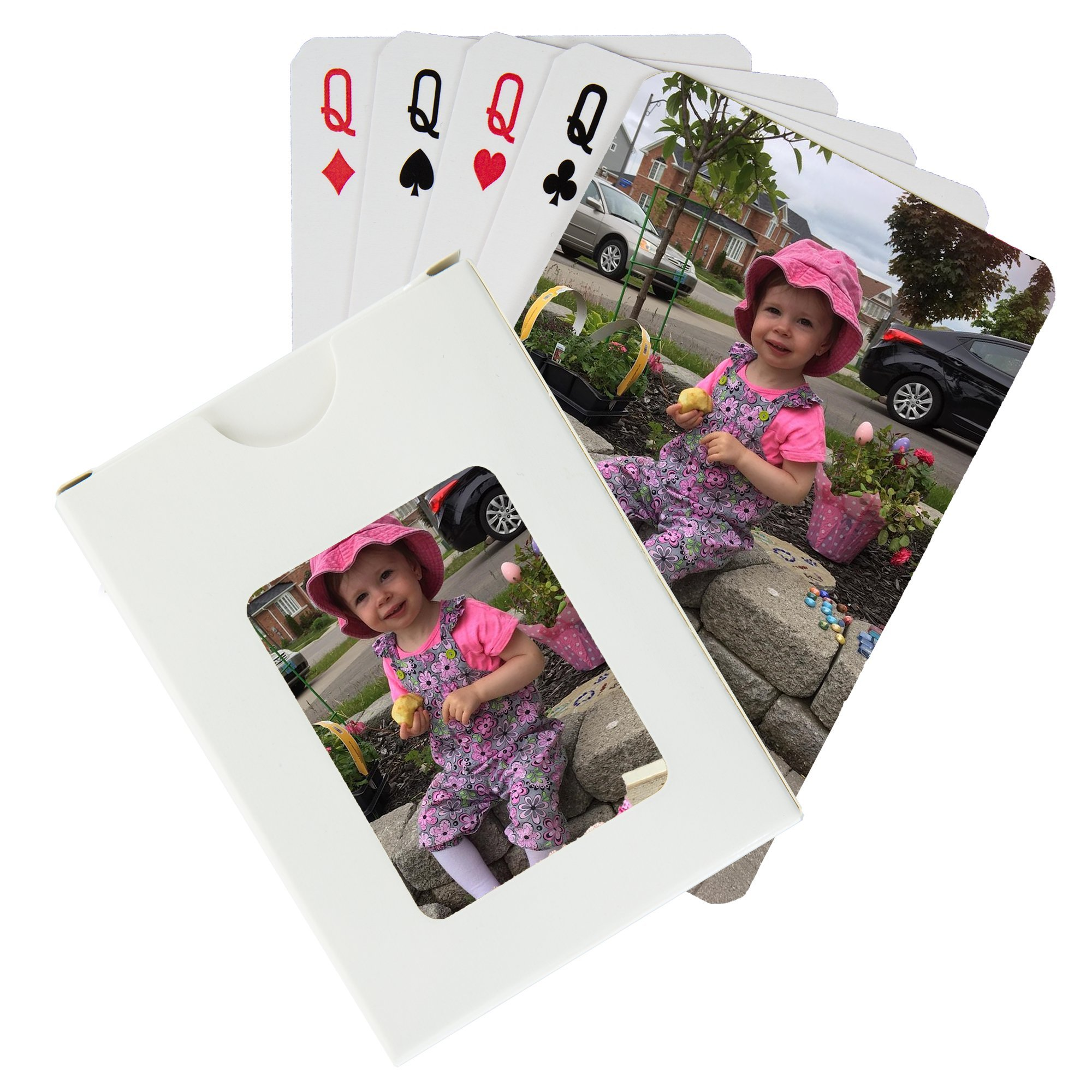 Custom Printed Playing Cards (1 Poker Size Deck) by PlayingCardsNow.com