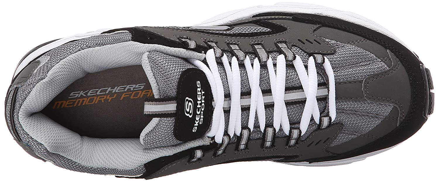 Skechers Sport Men's Stamina Nuovo Cutback Lace Up Sneaker