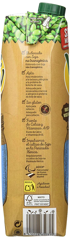 Vivesoy Bebida De Soja Sabor Natural - 1000 ml: Amazon.es ...