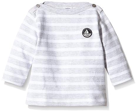 d30fbf7e28828 Petit Bateau Boite, Sweat-Shirt Bébé garçon, Multicolore (Poussière/Écume)
