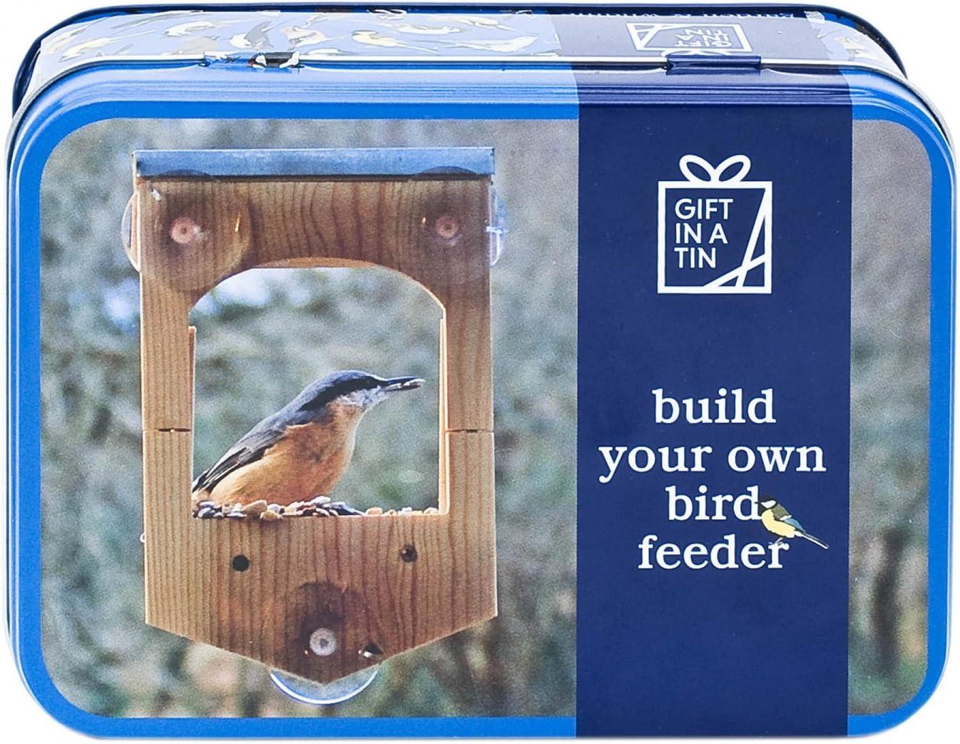Construye tu propio comedero de pájaros