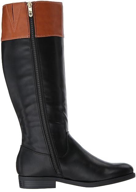 a38f91cb Amazon.com | Tommy Hilfiger Women's SHYENNE Equestrian Boot | Knee-High