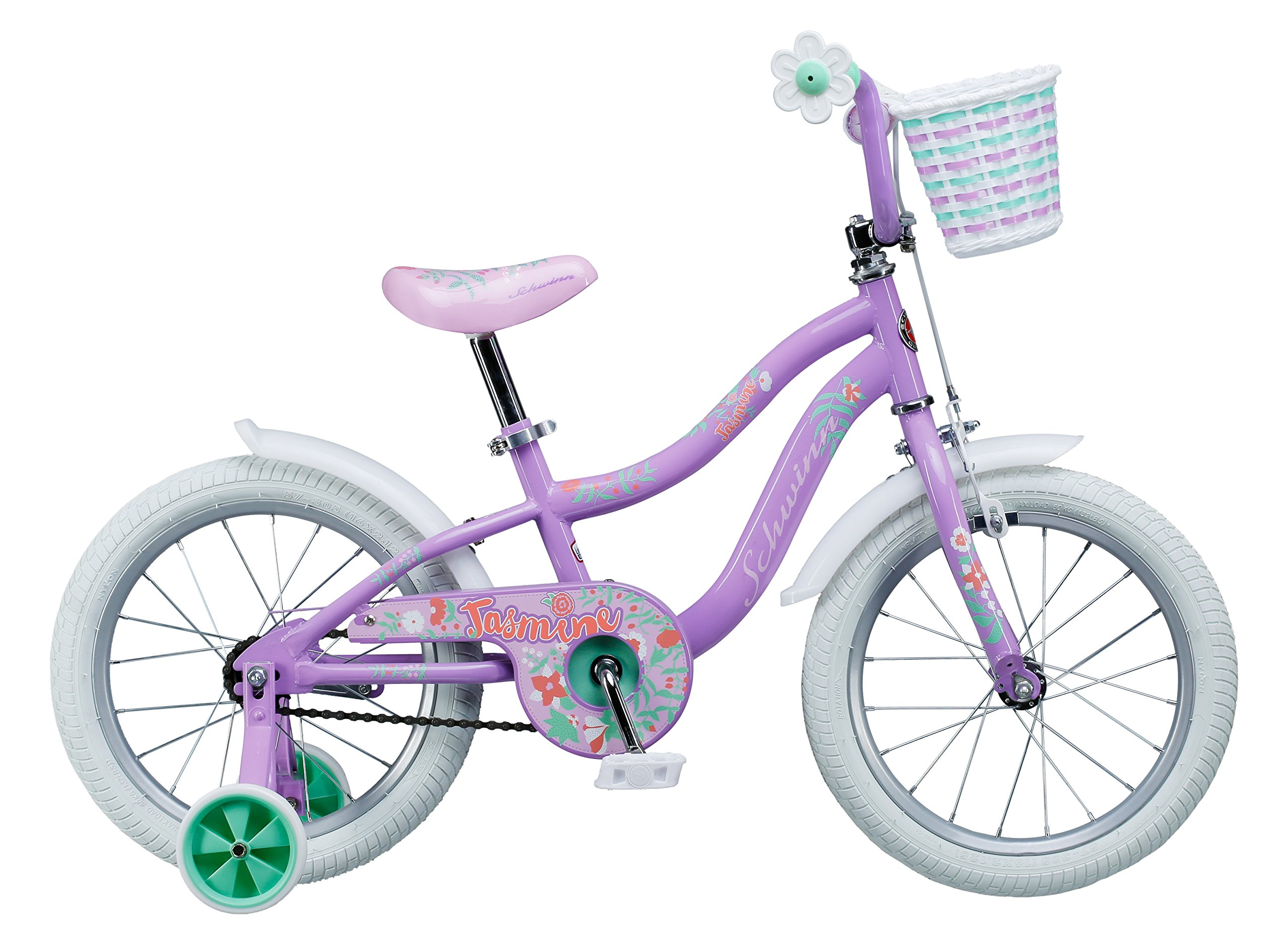 Schwinn Girl's Jasmine Bicycle, 16'', Purple by Schwinn (Image #4)