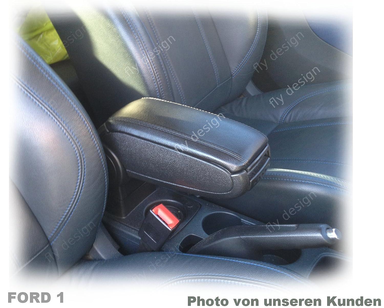 VW Passat B5 3B Mittelarmlehne Armlehne Armrest Armstütze Lehne LEDER SCHWARZ