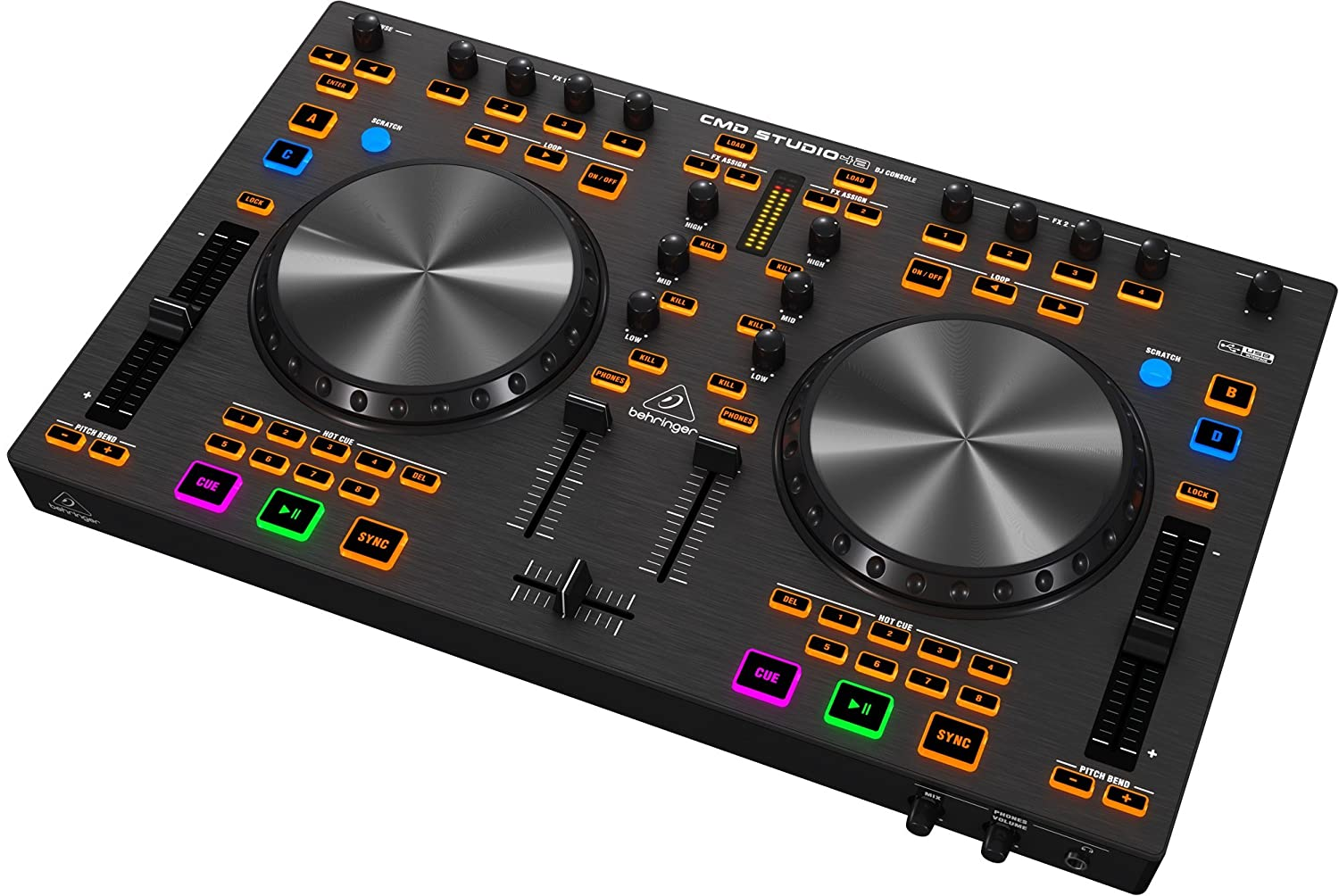 top 5 best dj controllers for beginners reviews best7reviews. Black Bedroom Furniture Sets. Home Design Ideas