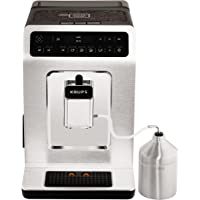 Krups Kaffeevollautomat Evidence One-Touch-Cappuccino, OLED-Bedienfeld mit Touchcreen, 2.1 L