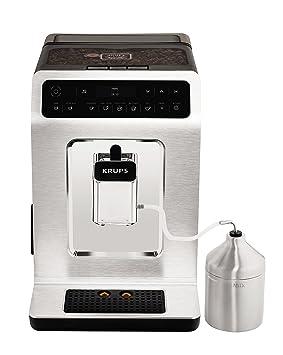 Krups Evidence EA891C Independiente Totalmente automática Máquina espresso 2.3L 2tazas Cromo, Metálico - Cafetera