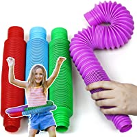 BunMo XL Pop Tubes Sensory Toys for Autistic Children and Fidgets for Kids, ADHD Toys for Kids and Autism Toys for Boys…