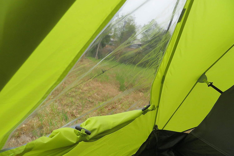 Ribelli Zelt, hell grün, 300x220cm: : Garten