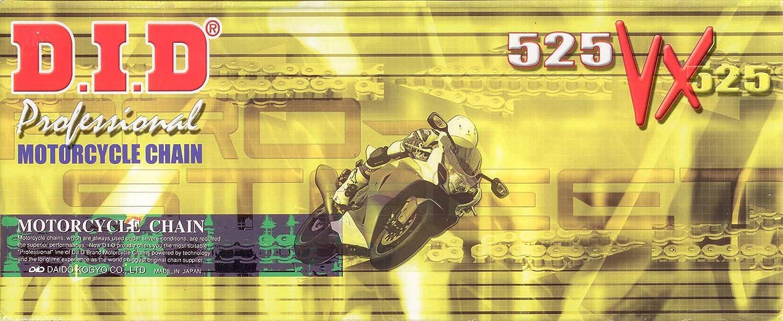 DID Kette 525VX f/ür DUCATI Sport996 touring ST4S Baujahr 99-05