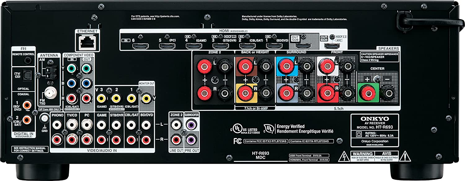 Onkyo HT-S7700 A/V Receiver Driver for Mac Download