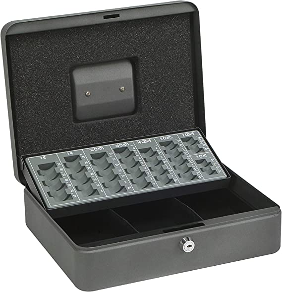 Arregui C9246-EUR Caja de caudales con Bandeja para Euros (Acero ...