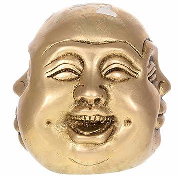 Amazon Com Kapasi Handicrafts 4 In 1 Laughing Buddha Sculpture