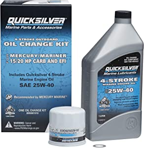 Quicksilver 8M0081910 Oil Change Kit - 15-20 HP Engines