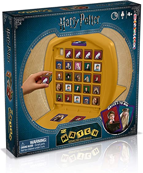 Match Harry Potter de Top Trumps. Juego de Mesa: Amazon.es ...